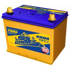 Аккумулятор автомобильный GINNES Asia 6CT-75.0 / 85D26L GA7501