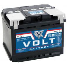 Аккумулятор автомобильный VOLT CLASSIC 6СТ-60.0 VC6001