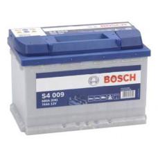 Аккумулятор BOSCH S4 009 74L 680A 278x175x190 (забрать сегодня)