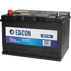 Аккумуляторная батареяная батарея 91Ah 740A + слева 306х173х225 B01/ EDCON DC91740L