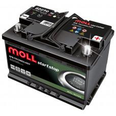 Аккумулятор MOLL EFB 70R 541