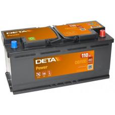 Аккумулятор автомобильный DETA DB1100 110 Ач