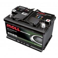 Аккумулятор MOLL EFB 80R 543