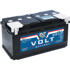Аккумулятор автомобильный VOLT CLASSIC 6СТ-90.1 VC9011