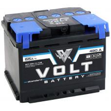 Аккумулятор автомобильный VOLT STANDARD 6СТ-55.1 VS5511