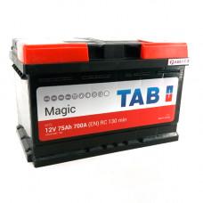 Аккумулятор TAB MAGIC 75R 700A 278x175x175 (забрать сегодня)