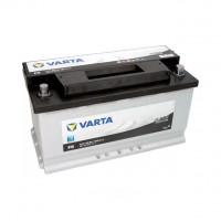 590122072_аккумуляторная Батарея! Black Dynamic 19.5/17.9 Евро 90ah 720a 353/175/190 Varta