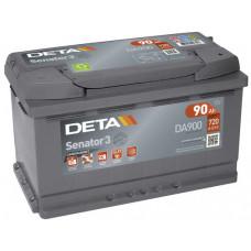Аккумулятор автомобильный DETA DA900 90 Ач