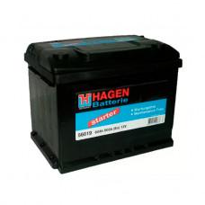 Аккумуляторная Батарея [12v 60ah 500a B13] HAGEN BATTERIE