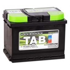 Аккумулятор TAB AGM 60R 680A 242x175x190 (забрать сегодня)