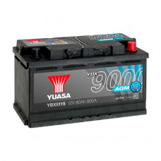 Аккумуляторная Батарея Agm Start Stop Plus[12v 80ah 800a B13] YUASA