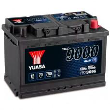 Аккумуляторная Батарея Agm Start Stop Plus[12v 70ah 760a B13] YUASA