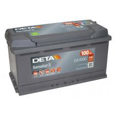 Аккумулятор автомобильный DETA DA1000 100 Ач