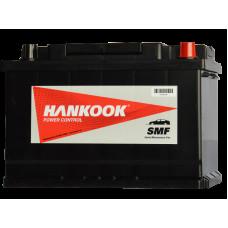 Аккумулятор HANKOOK 56077 (60R 570A 242x175x175) (забрать сегодня)
