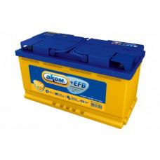 Аккумулятор АКОМ EFB 100 PL 12В 100Ач 930CCA 353x177x190 мм Прямая (+-)