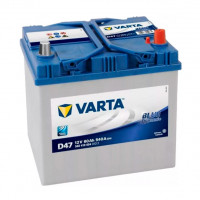 560410054_аккумуляторная Батарея! Blue Dynamic 19.5/17.9 Евро 60ah 540a 232/173/225 Varta