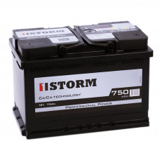 Аккумулятор STORM 75L 190