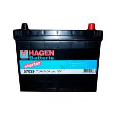 Аккумуляторная Батарея [12v 70ah 540a B9] HAGEN BATTERIE