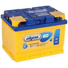 Аккумулятор АКОМ Standart 60 PL 12В 60Ач 520CCA 242x175x190 мм Прямая (+-)