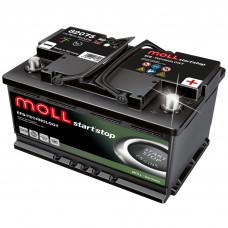 Аккумулятор MOLL EFB 75R 542