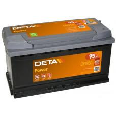 Аккумулятор автомобильный DETA DB950 95 Ач