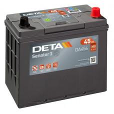 Аккумулятор автомобильный DETA DA456 45 Ач