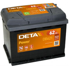 Аккумулятор автомобильный DETA DB621 62 Ач