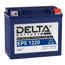 Аккумулятор автомобильный Delta EPS 1220 24 Ач