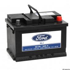 Аккумулятор FORD 52R 500A 242x175x175 (забрать сегодня)