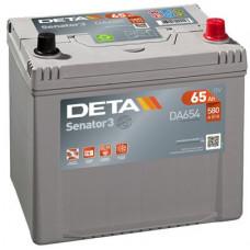 Аккумулятор автомобильный DETA DA654 65 Ач