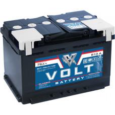 Аккумулятор автомобильный VOLT CLASSIC 6СТ-75.1 VC7511