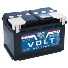 Аккумулятор автомобильный VOLT CLASSIC 6СТ-75.0 VC7501