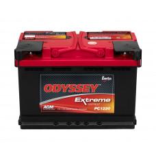 Аккумулятор Odyssey PC1220 12В 70Ач 680CCA 278x175x190 мм Обратная (-+)