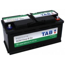 Аккумулятор TAB AGM 105R 950A 394x175x190 213105