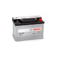 0 092 S30 080_аккумуляторная Батарея! 19.5/17.9 Евро 70ah 640a 278/175/190 Bosch