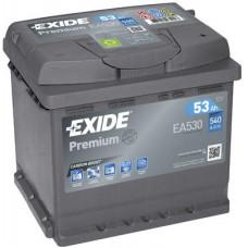 Аккумулятор EXIDE Premium 53R EA530 540A 207х175х190 (забрать сегодня)