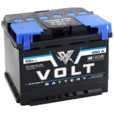 Аккумулятор автомобильный VOLT STANDARD 6СТ-55.0 VS5501