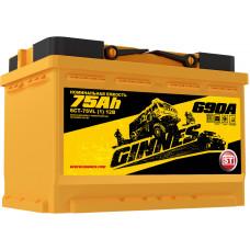 Аккумулятор автомобильный GINNES 6СТ-75.1 GY7511