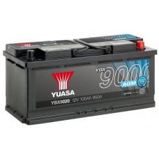Аккумулятор автомобильный Yuasa YBX9020 105 Ач