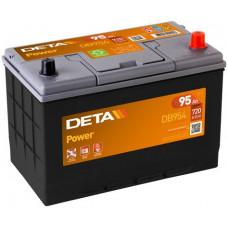 Аккумулятор автомобильный DETA DB954 95 Ач