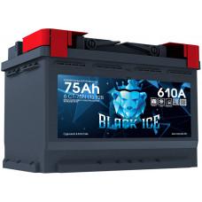Аккумулятор автомобильный BLACK ICE 6СТ-75.1 BI7511