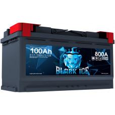 Аккумулятор автомобильный BLACK ICE 6СТ-100.1 BI10011