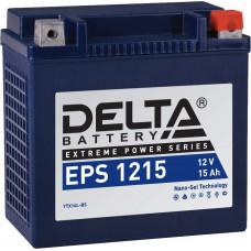Аккумулятор автомобильный Delta EPS 1215 15 Ач