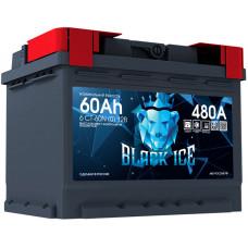 Аккумулятор автомобильный BLACK ICE 6СТ-60.0 BI6001