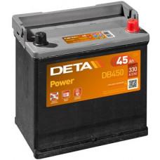 Аккумулятор автомобильный DETA DB450 45 Ач