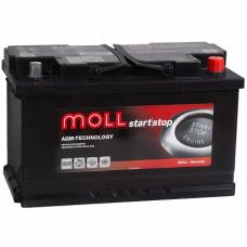 Аккумулятор MOLL AGM 95R Start-Stop 850A 353x175x190 (забрать сегодня)