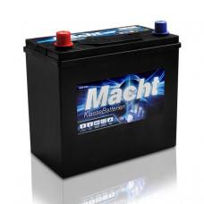Акб Торговая марка Macht 12v 45 Biah 330a 237x128x220 / -/ ASAM-SA