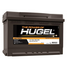 Аккумулятор Hugel Action 6СТ-75 низкий о.п