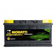 Аккумулятор Moratti 100а/ч о.п.