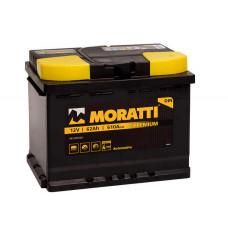 Аккумулятор Moratti 62а/ч о.п.